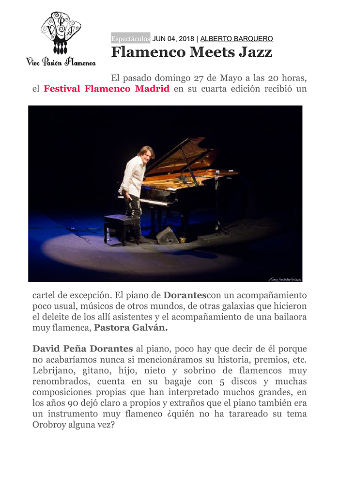 festival flamenco madrid